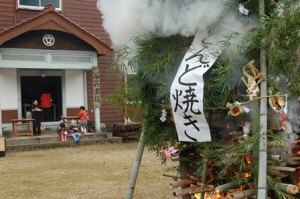 とんど焼き・雪まつり_2013